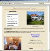 web site - www.chepstow-house.co.uk  -  Bed and Breakfast