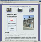 web site - www.haddocksrest.co.uk - Self-catering