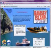 web site - www.RamseyIslandCruises.co.uk - Adventure Boat Trips