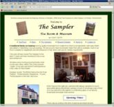 Web site - www.sampler-tearoom.co.uk - Tea Room and Museum