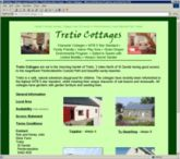 web site - www.tretiocottages.co.uk  -  Holiday Accommodation